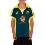 Asics Cricket Australia Kids Replica ODI Alternative Shirt Asics Cricket Australia Kids Replica ODI Alternative Shirt