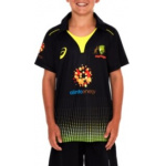 Asics Cricket Australia Kids Replica Twenty20 Shirt Asics Cricket Australia Kids Replica Twenty20 Shirt