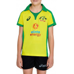ASICS Cricket Australia Kids Replica ODI Home Shirt ASICS Cricket Australia Kids Replica ODI Home Shirt