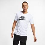 Nike Men's Sportswear Futura Tee - WHITE/BLACK (101) Nike Men's Sportswear Futura Tee - WHITE/BLACK (101)