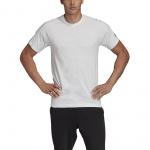 Adidas Mens Must Haves Tee - WHITE/BLACK Adidas Mens Must Haves Tee - WHITE/BLACK