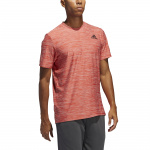 Adidas Mens All Set Tee 2.0 - Scarlet Mel Adidas Mens All Set Tee 2.0 - Scarlet Mel