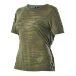 Russell Athletic Women's Burnout T-Shirt - Light Khaki Russell Athletic Women's Burnout T-Shirt - Light Khaki