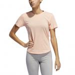 Adidas Women's Adaptable Length Tee - Glow Pink Adidas Women's Adaptable Length Tee - Glow Pink