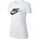 Nike Women's Sportswear Essential Icon T-Shirt - WHITE/BLACK Nike Women's Sportswear Essential Icon T-Shirt - WHITE/BLACK