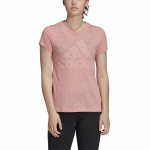 Adidas Womens Must Haves Winners Tee - Glory Pink Melange Adidas Womens Must Haves Winners Tee - Glory Pink Melange