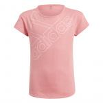 Adidas Girls Essentials T1 Logo Tee - Hazy Rose/Light Pink Adidas Girls Essentials T1 Logo Tee - Hazy Rose/Light Pink