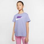 Nike Girls Sportswear Futura Tee - PURPLE CHALK/WILD BERRY