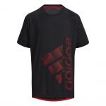 Adidas Boys SP Badge of Sport Tee - BLACK Adidas Boys SP Badge of Sport Tee - BLACK