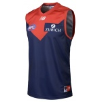 New Balance Melbourne Demons AFL HOME Replica Guernsey - 2019 New Balance Melbourne Demons AFL HOME Replica Guernsey - 2019