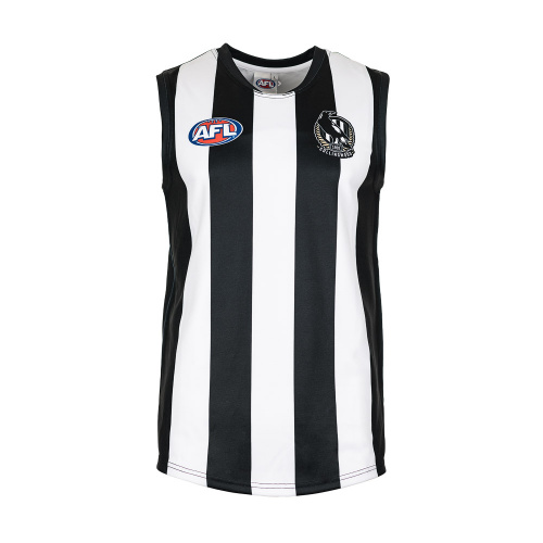 Burley Collingwood Magpies AFL Home Adults Replica Guernsey