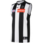 Nike Collingwood Magpies AFL Kids Home Guernsey - 2021 Nike Collingwood Magpies AFL Kids Home Guernsey - 2021