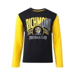 Playcorp Richmond Tigers AFL Longsleeve Kids Supporter Tee Playcorp Richmond Tigers AFL Longsleeve Kids Supporter Tee