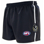Burley Collingwood Magpies AFL Replica Adults Shorts Burley Collingwood Magpies AFL Replica Adults Shorts