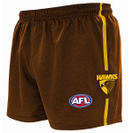 Burley Hawthorn Hawks AFL Replica Adults Shorts Burley Hawthorn Hawks AFL Replica Adults Shorts
