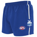 Burley Nth Melbourne Kangaroos AFL Replica Adults Shorts Burley Nth Melbourne Kangaroos AFL Replica Adults Shorts