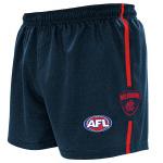 Burley Melbourne Demons AFL Replica Adults Shorts Burley Melbourne Demons AFL Replica Adults Shorts