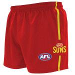 Burley Gold Coast Suns AFL Replica Adults Shorts Burley Gold Coast Suns AFL Replica Adults Shorts