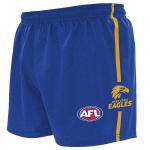 Burley West Coast Eagles AFL Replica Adults Shorts Burley West Coast Eagles AFL Replica Adults Shorts