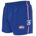 Burley Western Bulldogs AFL Replica Adults Shorts Burley Western Bulldogs AFL Replica Adults Shorts