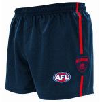 Burley Melbourne Demons AFL Replica Kids Shorts Burley Melbourne Demons AFL Replica Kids Shorts