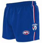 Burley Western Bulldogs AFL Replica Kids Shorts Burley Western Bulldogs AFL Replica Kids Shorts