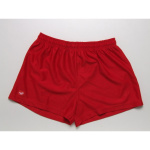 Burley Plain Baggy Kids Football Shorts - RED Burley Plain Baggy Kids Football Shorts - RED