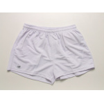 Burley Plain Baggy Kids Football Shorts - WHITE Burley Plain Baggy Kids Football Shorts - WHITE