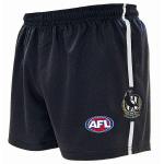 Burley Collingwood Magpies AFL Replica Kids Shorts Burley Collingwood Magpies AFL Replica Kids Shorts