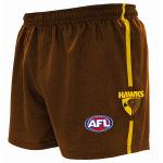Burley Hawthorn Hawks AFL Replica Kids Shorts Burley Hawthorn Hawks AFL Replica Kids Shorts