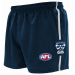 Burley Geelong Cats AFL Replica Kids Shorts Burley Geelong Cats AFL Replica Kids Shorts