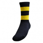 Burley Richmond Tigers AFL Elite Crew Football Socks