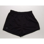 Burley Plain Baggy Adults Football Shorts - BLACK Burley Plain Baggy Adults Football Shorts - BLACK