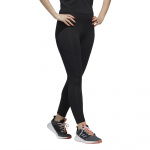 Adidas Womens Designed 2 Move Branded High-Rise 7/8 Tight - BLACK Adidas Womens Designed 2 Move Branded High-Rise 7/8 Tight - BLACK