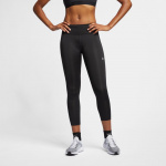 Nike Womens Fast 7/8 Running Crop - BLACK Nike Womens Fast 7/8 Running Crop - BLACK