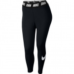 Nike Women's Sportswear Club Legging - BLACK/WHITE Nike Women's Sportswear Club Legging - BLACK/WHITE
