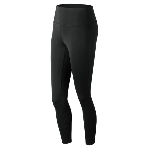 New Balance Women's Core High Waisted Tight - BLACK