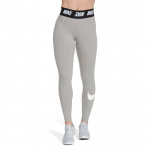 Nike Women's Sportswear Club Legging - DK GREY HEATHER/WHITE Nike Women's Sportswear Club Legging - DK GREY HEATHER/WHITE