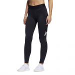 adidas Womens Alphaskin Sport Long Tight - Black/White adidas Womens Alphaskin Sport Long Tight - Black/White