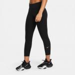 Nike Womens One Capri Tight - BLACK/WHITE Nike Womens One Capri Tight - BLACK/WHITE