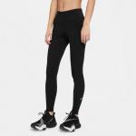 Nike Womens One Full Length Tight - BLACK/WHITE Nike Womens One Full Length Tight - BLACK/WHITE