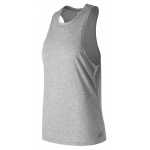 New Balance Womens Heather Tech Training Tank - Athletic Grey