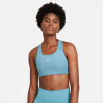 Nike Swoosh Sports Bra - CERULEAN/PURE/WHITE Nike Swoosh Sports Bra - CERULEAN/PURE/WHITE