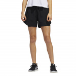 Adidas Womens 2IN1 Woven Short - Black Adidas Womens 2IN1 Woven Short - Black