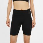 Nike Womens One 7-inch Bike Short - BLACK Nike Womens One 7-inch Bike Short - BLACK