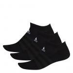 Adidas Cushioned Low-Cut Socks - 3 Pairs - BLACK Adidas Cushioned Low-Cut Socks - 3 Pairs - BLACK