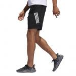 Adidas Men's 4KRFT Tech Woven 3-Stripes Short - Black/White Adidas Men's 4KRFT Tech Woven 3-Stripes Short - Black/White