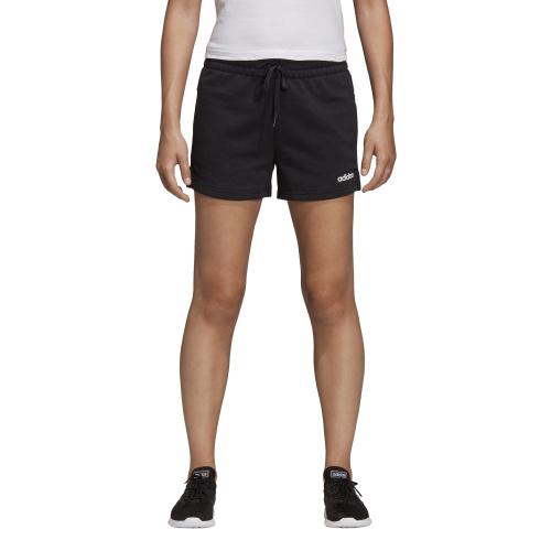 Adidas Womens Essentials Solid Short BlackWhite