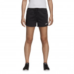 Adidas Womens Essentials Solid Short - Black/White Adidas Womens Essentials Solid Short - Black/White