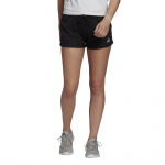 Adidas Womens Essentials Regular Short - BLACK/WHITE Adidas Womens Essentials Regular Short - BLACK/WHITE